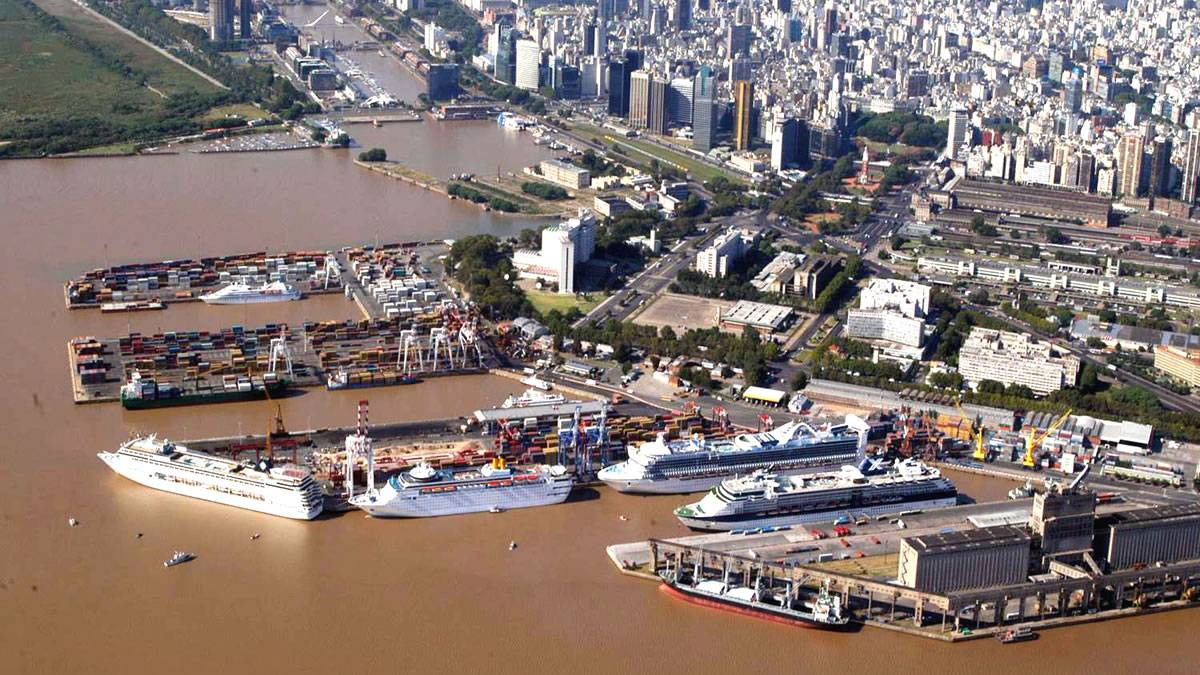 Buenos Aires Port